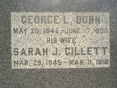GILLETT DUNN, SARAH J. - Page County, Iowa | SARAH J. GILLETT DUNN