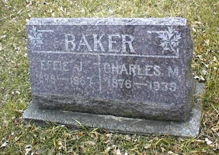 BAKER, EFFIE JANE (WILLCOX) & CHARLES M. - Page County, Iowa | EFFIE JANE (WILLCOX) & CHARLES M. BAKER
