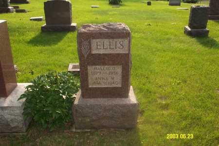 ELLIS, ANNA - Page County, Iowa | ANNA ELLIS