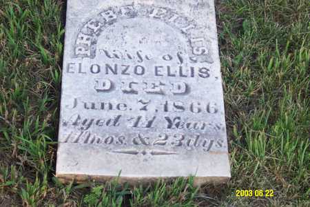 ELLIS, PHEBE - Page County, Iowa | PHEBE ELLIS