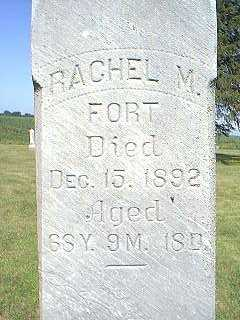 FORT, RACHEL M. - Page County, Iowa | RACHEL M. FORT