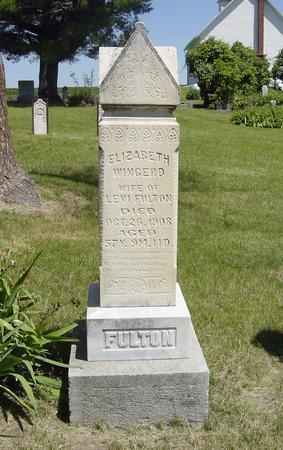 FULTON, ELIZABETH - Page County, Iowa | ELIZABETH FULTON