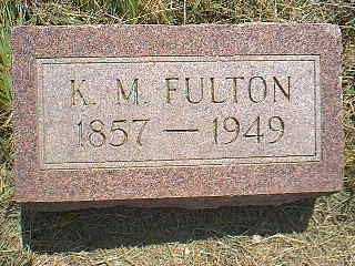 FULTON, K.M. - Page County, Iowa | K.M. FULTON