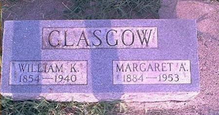 GLASGOW, MARGARET A - Page County, Iowa | MARGARET A GLASGOW