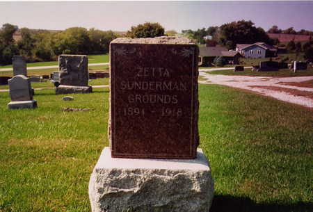 GROUNDS, ZETTA - Page County, Iowa | ZETTA GROUNDS