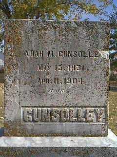 GUNSOLLEY, NOAH M. - Page County, Iowa | NOAH M. GUNSOLLEY