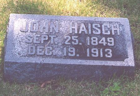 HAISCH, JOHN - Page County, Iowa | JOHN HAISCH