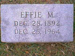 HAKES, EFFIE M. - Page County, Iowa | EFFIE M. HAKES
