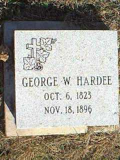 HARDEE, GEORGE - Page County, Iowa | GEORGE HARDEE