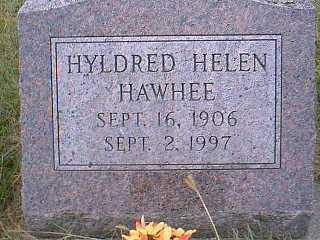 HAWHEE, HYLDRED HELEN - Page County, Iowa | HYLDRED HELEN HAWHEE