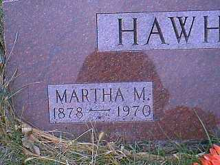 HAWHEE, MARTHA M. - Page County, Iowa | MARTHA M. HAWHEE