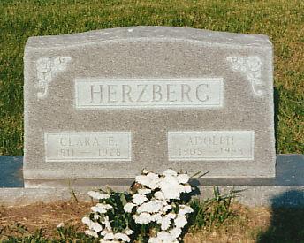 HERZBERG, CLARA E. - Page County, Iowa | CLARA E. HERZBERG