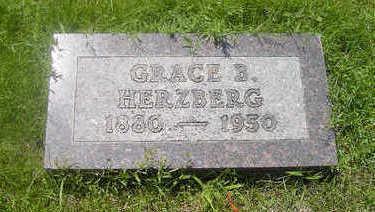 BERRINGER HERZBERG, GRACE B. - Page County, Iowa | GRACE B. BERRINGER HERZBERG
