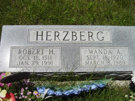 HERZBERG, WANDA A. - Page County, Iowa | WANDA A. HERZBERG