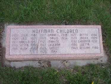 HOFFMAN, JOETTA - Page County, Iowa | JOETTA HOFFMAN