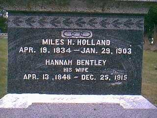 HOLLAND, MILES H. - Page County, Iowa | MILES H. HOLLAND
