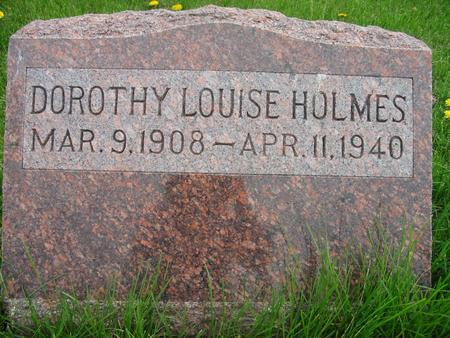 HOLMES, DOROTHY - Page County, Iowa   DOROTHY HOLMES