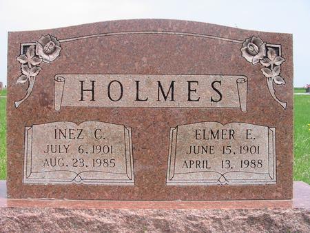 FALK HOLMES, INEZ - Page County, Iowa | INEZ FALK HOLMES