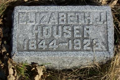 WILLIAMS HOUSER, ELIZABETH - Page County, Iowa | ELIZABETH WILLIAMS HOUSER