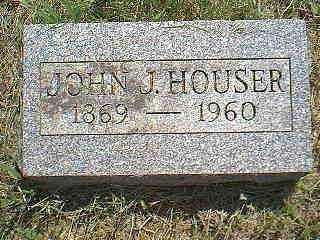 HOUSER, JOHN J. - Page County, Iowa | JOHN J. HOUSER