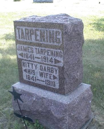 TARPENING, JAMES & RITTY DARBY - Page County, Iowa | JAMES & RITTY DARBY TARPENING