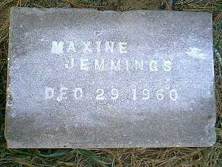 JEMMINGS, MAXINE - Page County, Iowa | MAXINE JEMMINGS