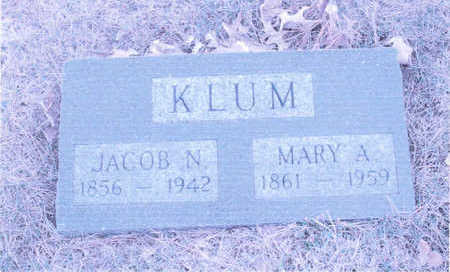 SPAULDING KLUM, MARY - Page County, Iowa | MARY SPAULDING KLUM