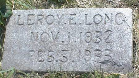 LONG, LEROY E. - Page County, Iowa | LEROY E. LONG