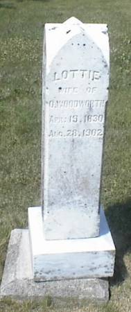 WOODWORTH, LOTTIE - Page County, Iowa | LOTTIE WOODWORTH