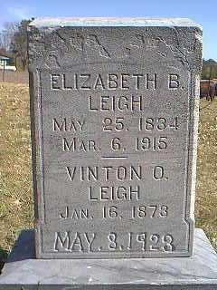 LEIGH, VINTON O. - Page County, Iowa | VINTON O. LEIGH
