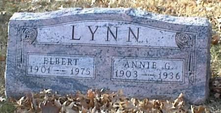 LYNN, ANNIE GERTRUDE - Page County, Iowa | ANNIE GERTRUDE LYNN