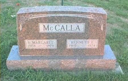 MCCALLA, KENNETH E - Page County, Iowa | KENNETH E MCCALLA