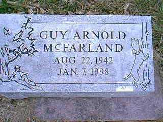 MCFARLAND, GUY ARNOLD - Page County, Iowa | GUY ARNOLD MCFARLAND