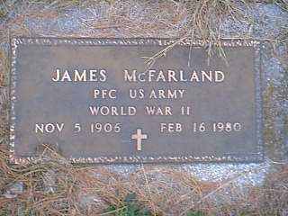 MCFARLAND, JAMES - Page County, Iowa | JAMES MCFARLAND