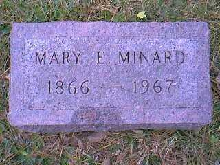 MINARD, MARY E. - Page County, Iowa | MARY E. MINARD