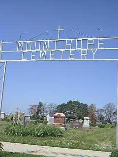 MOUNT HOPE/NYMAN, CEMETERY - Page County, Iowa | CEMETERY MOUNT HOPE/NYMAN