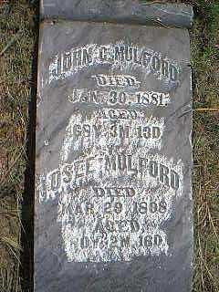 MULFORD, JOHN - Page County, Iowa | JOHN MULFORD