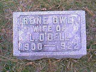 OWEN O'DELL, IRENE - Page County, Iowa | IRENE OWEN O'DELL