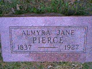 PIERCE, ALMYRA JANE - Page County, Iowa | ALMYRA JANE PIERCE