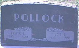 POLLOCK, FRANK L. - Page County, Iowa | FRANK L. POLLOCK