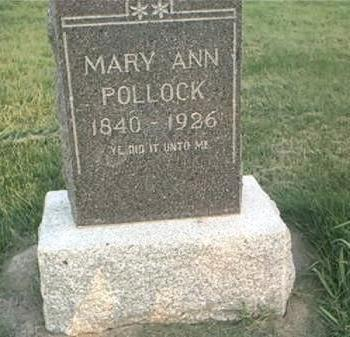 POLLOCK, MARY ANN - Page County, Iowa | MARY ANN POLLOCK