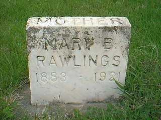 RAWLINGS, MARY B. - Page County, Iowa | MARY B. RAWLINGS
