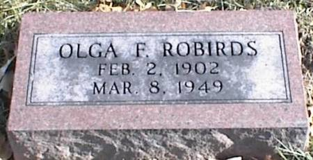 ROBIRDS, OLGA F. - Page County, Iowa | OLGA F. ROBIRDS