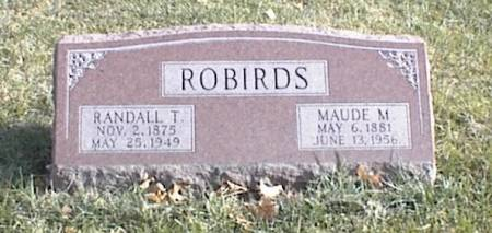 FREEMAN ROBIRDS, MAUDE MABLE - Page County, Iowa | MAUDE MABLE FREEMAN ROBIRDS