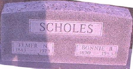 SCHOLES, ELMER N. - Page County, Iowa | ELMER N. SCHOLES