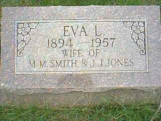 JONES, EVA L. - Page County, Iowa | EVA L. JONES