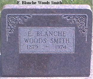 WOODS SMITH, E. BLANCHE - Page County, Iowa | E. BLANCHE WOODS SMITH