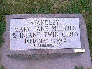 PHILLIPS STANDLEY, MARY JANE - Page County, Iowa | MARY JANE PHILLIPS STANDLEY