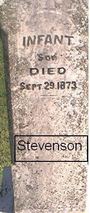 STEVENSON, INFANT SON - Page County, Iowa | INFANT SON STEVENSON
