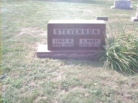 STEVENSON, ANNA MARY - Page County, Iowa | ANNA MARY STEVENSON